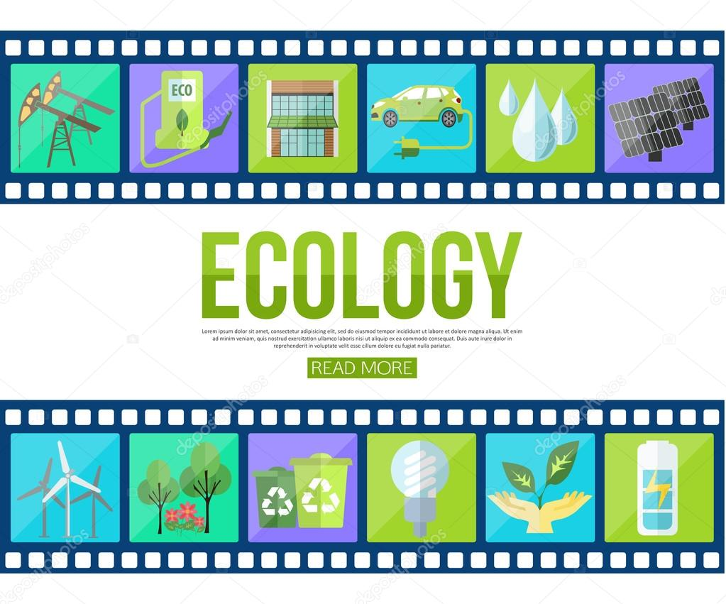 modern ecology icons