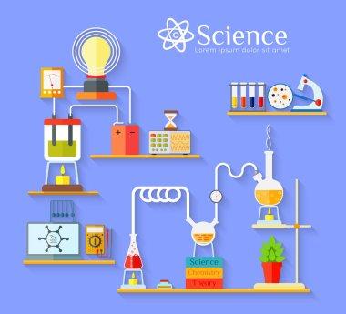 Chemical laboratory workspace