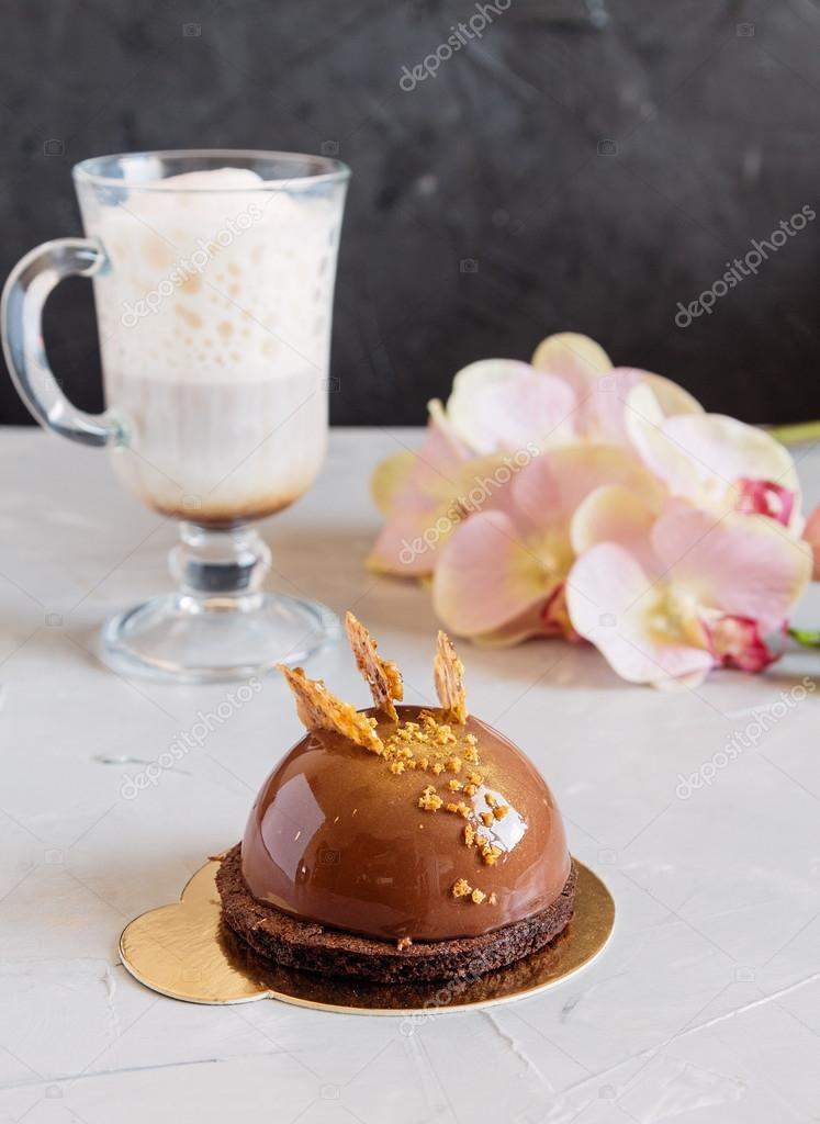 Cake Mousse Coffee