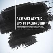 Fotografie Abstrakt gemalten Strich Freihandhintergrunds. Grunge Aquarell schwarzen Hintergrund. Retro abstract Hand gezeichnete Karte. Papierstruktur