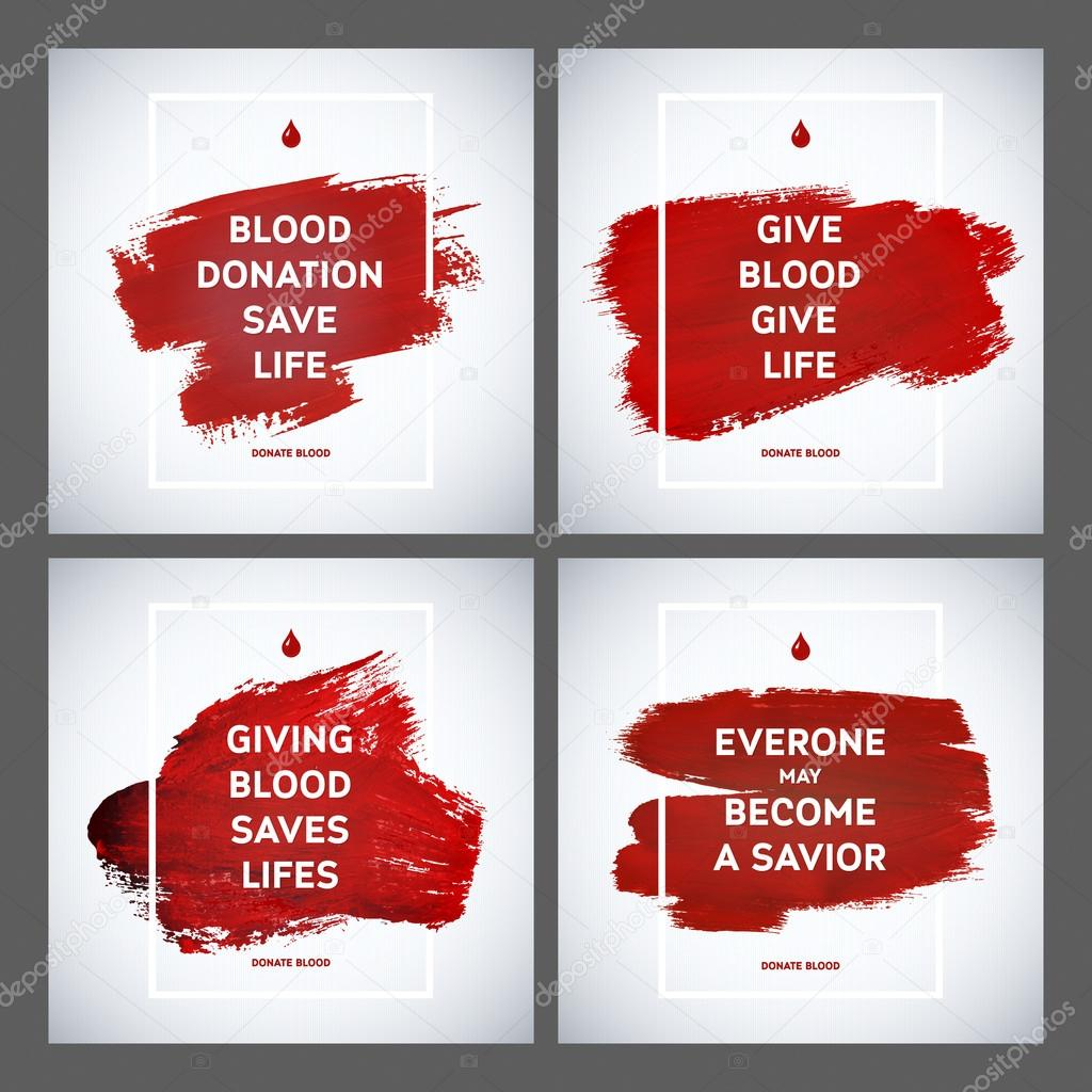 Creative blood donor day motivation information donor poster set creative blood donor day motivation information donor poster set blood donation world blood donor thecheapjerseys Gallery