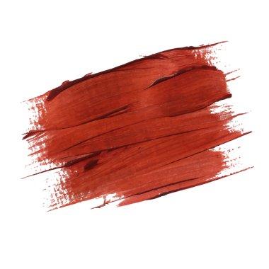 acrylic brush stroke