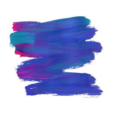 abstract brush stroke
