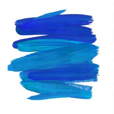 Brush  paint stain, stroke