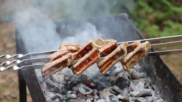 kebab, grilované maso