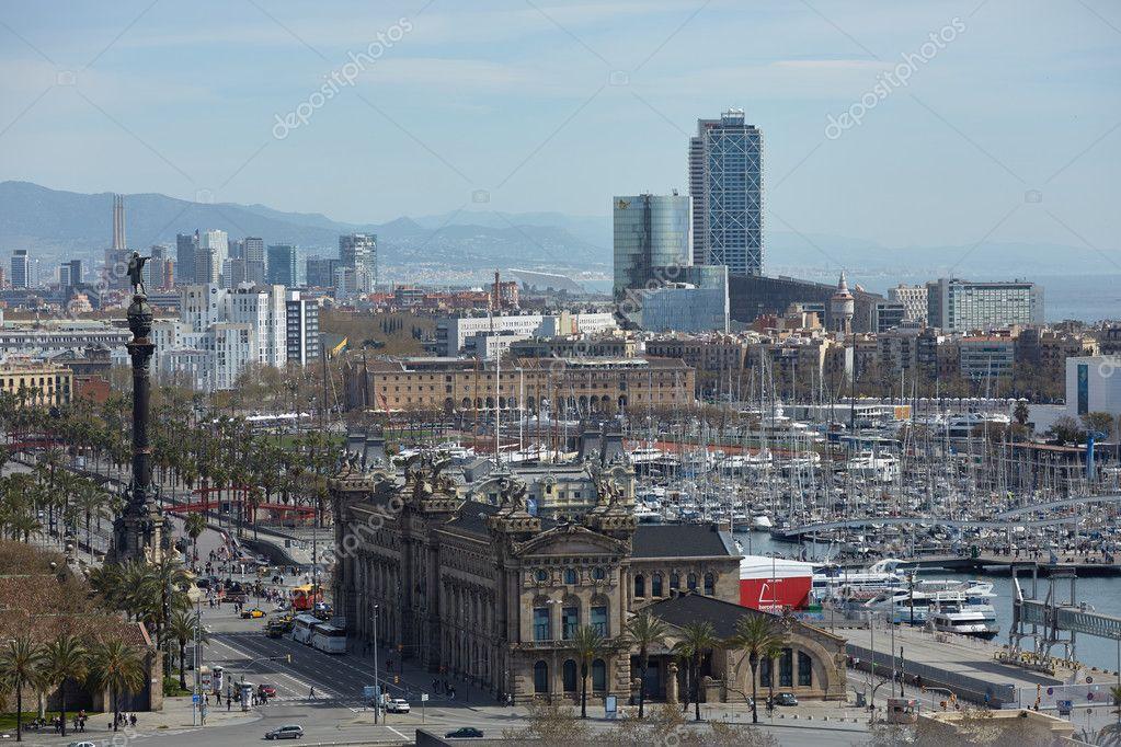 Barcelona Vista Da Cidade Fotos Imagens De C Nikolodion 85402010
