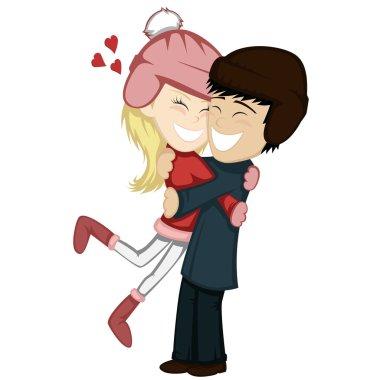 Winter hugs (lovely couples)