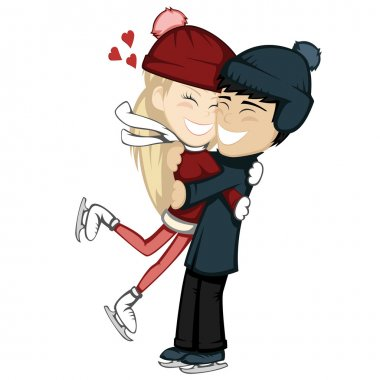 Winter hugs (lovely couples)