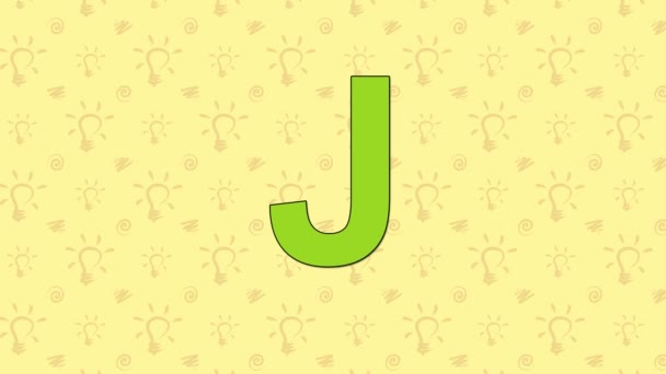 Šakal. Anglická abeceda Zoo - písmeno J
