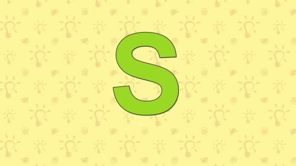 Skřivan. Anglická abeceda Zoo - písmeno S