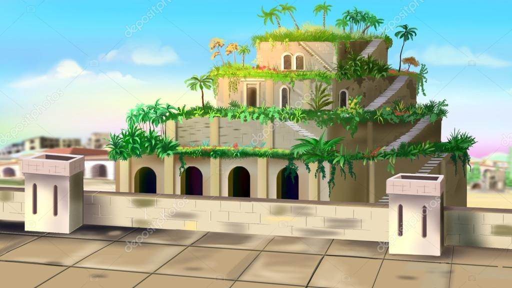 Jardines Colgantes De Babilonia Fotos De Stock C Zarevv 97307642