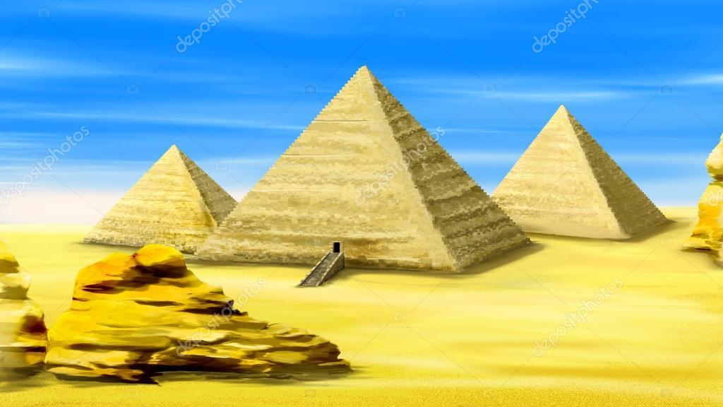 Mısır 02 Piramitleri Stok Foto Zarevv 97308140