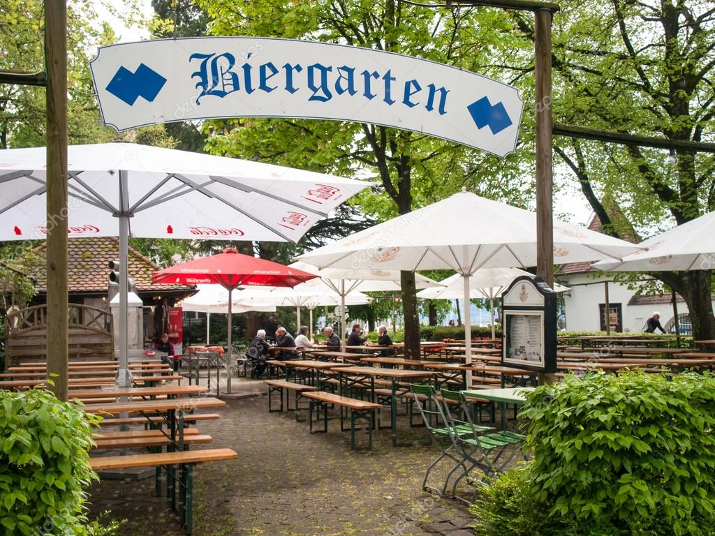 German Beer Garden Stock Editorial Photo C Mor65 105842086