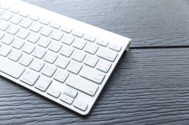 Close up of the typical Mac Keyboard