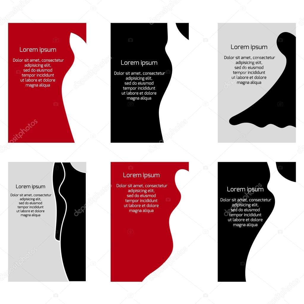Business cards with different dress for your design stock vector business cards with different dress for your design stock vector reheart Image collections
