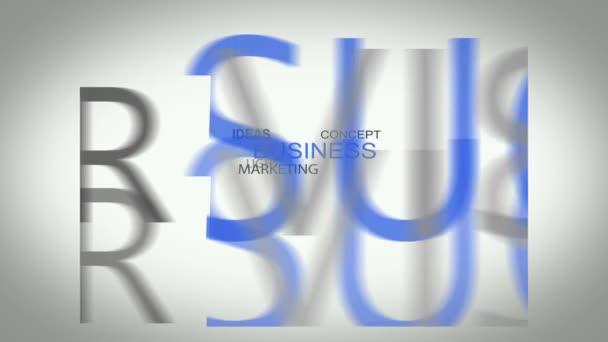 Innovációt üzleti koncepció készült rajz alá tartozó szavak