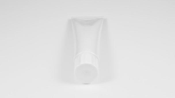 Tuba zubní pasty, krém nebo Gel šedé stříbro bílá čistá