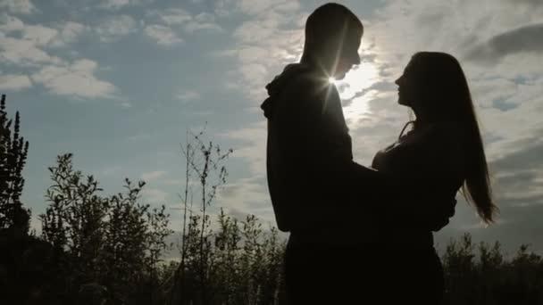romantická scéna lásky