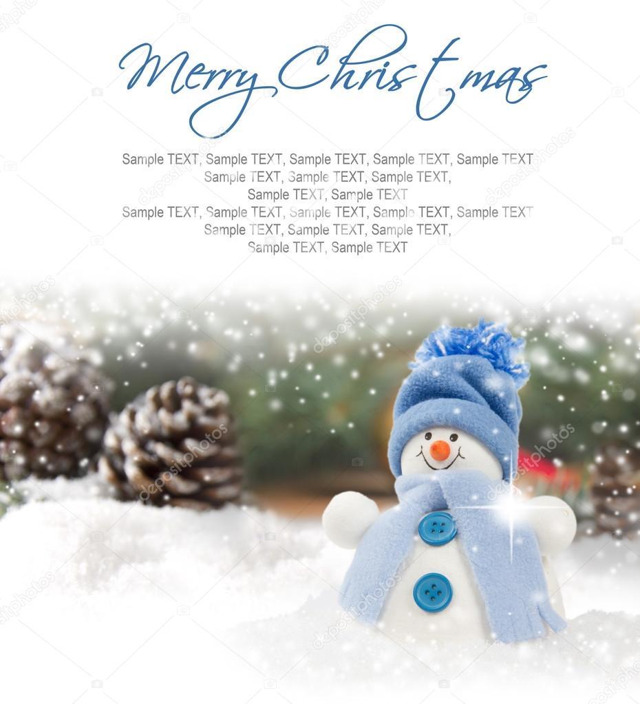 Bałwan Ze śniegu Zdjęcie Stockowe Lindavostrovska 90834736