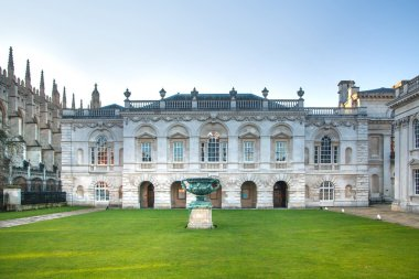 CAMBRIDGE, UK - JANUARY 18, 2015: Senate house (1722-1730). mainly used for the degree ceremonies of the University of Cambridge