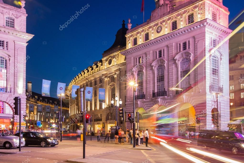 Romantische Nacht in London