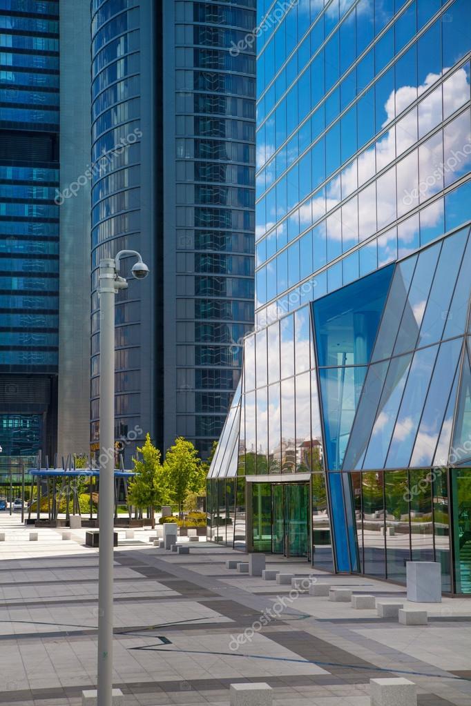 Ciudad De Madrid Centro De Negocios Modernos Rascacielos Cuatro