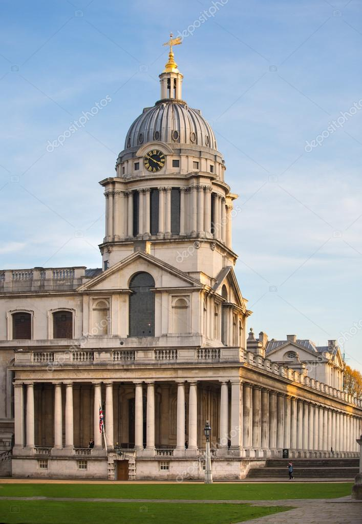 London Greenwich Painted Hall Classic English Architecture View Includes University Of Building