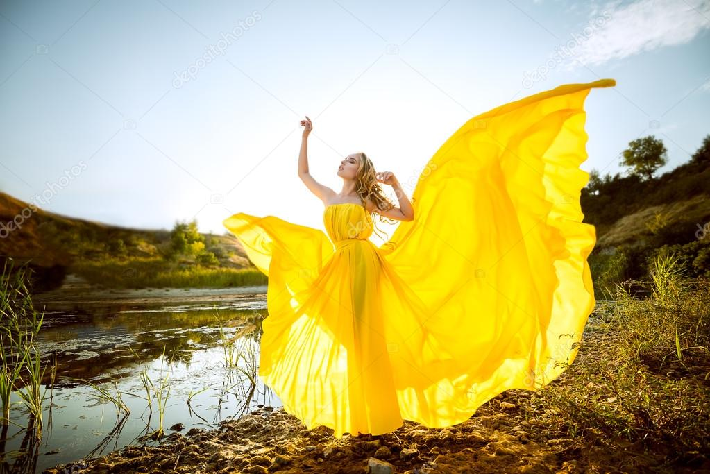 Фото развевающиеся платья