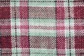 fabric colorful plaid