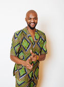 Fotografie portrait of young handsome african man