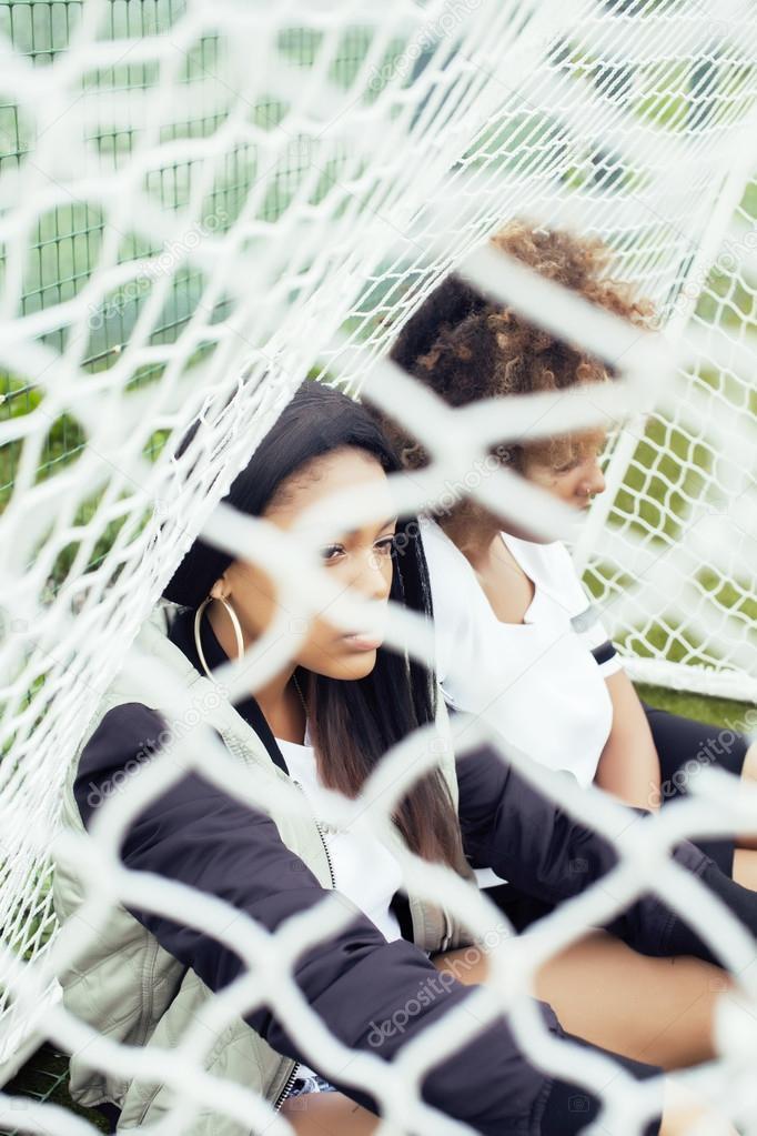 afrykańskie nastolatki łup