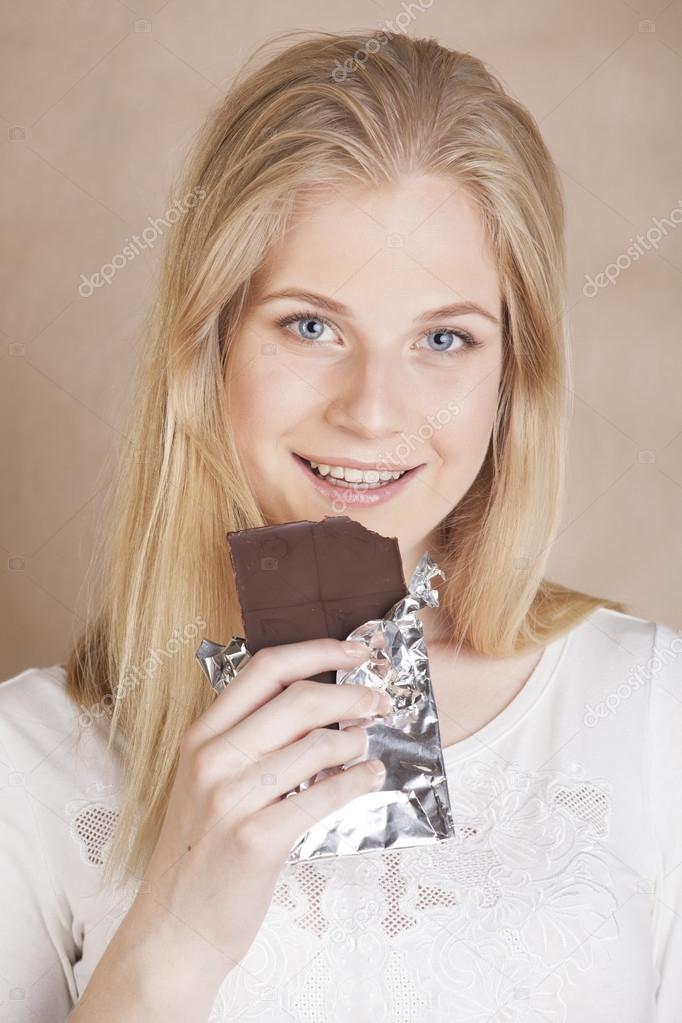 Dospívající dívky krém koláč
