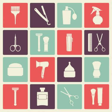 Barber Shop vintage tools