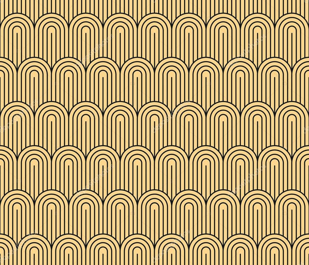 Art Deco seamless pattern — Stock Vector © lub_lubachka #68599545