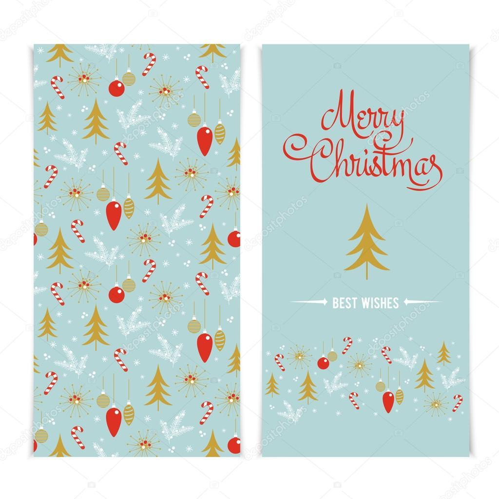 Merry Christmas Card Szablon Boże Narodzenie Złoty Plakaty
