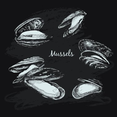 Mussels set
