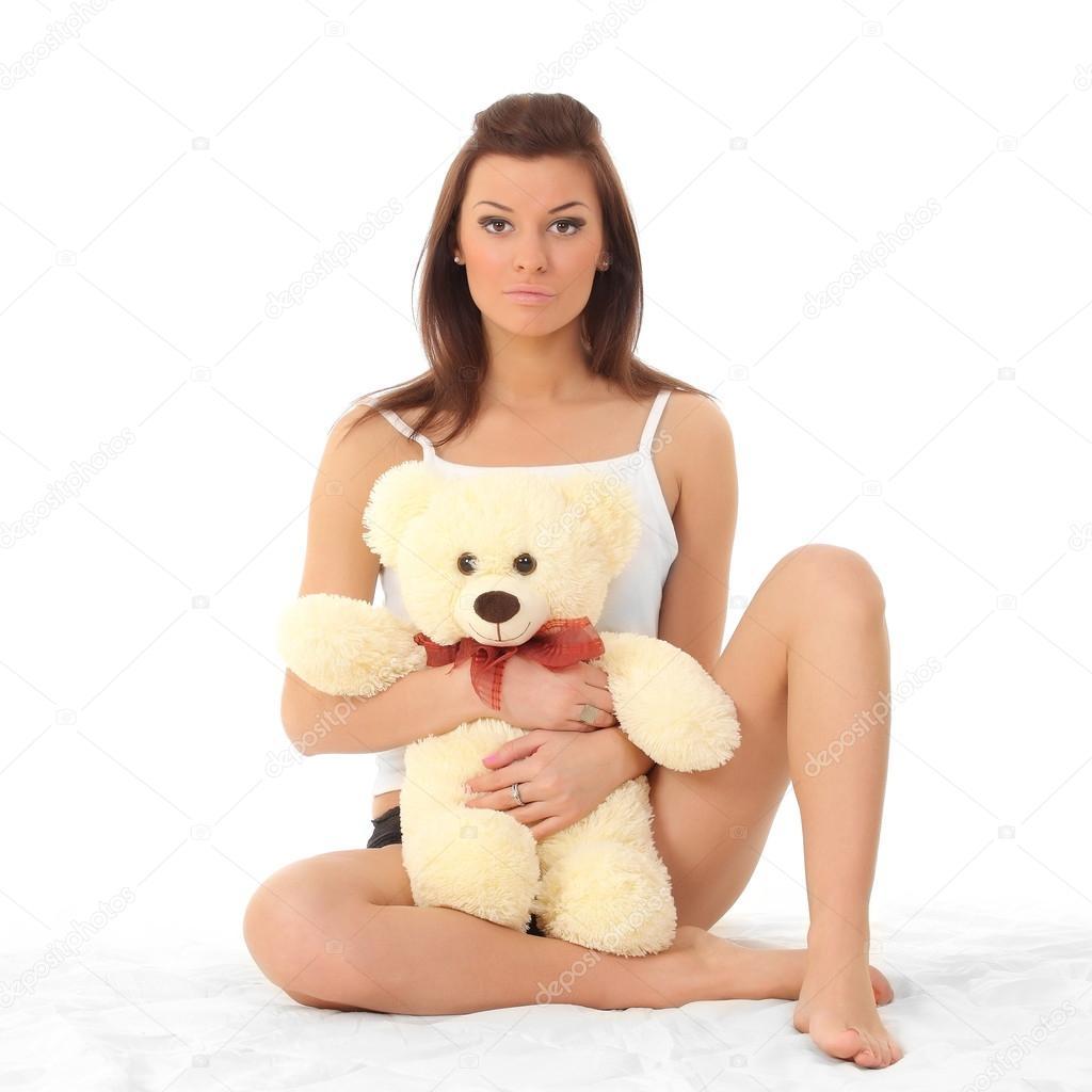 Girl lingerie teddy for that