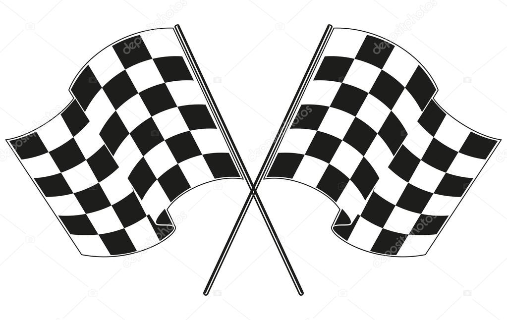 Racing Checkered Flag >> 方格的旗赛车 — 图库矢量图像© gorbovoi81 #57044831