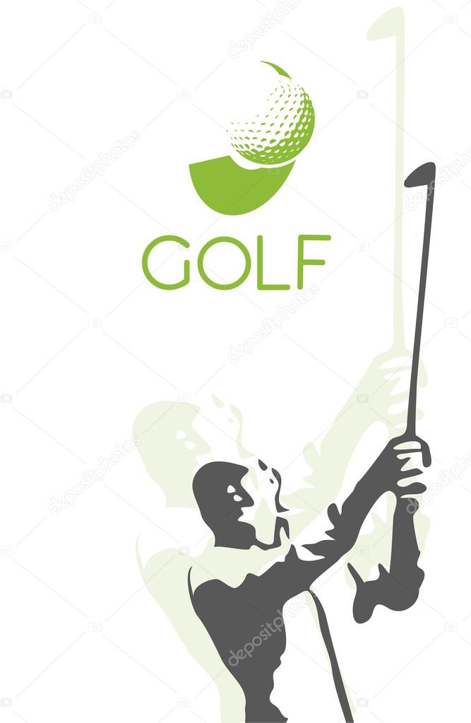 Golf Player Silhouette Stock Vector C Kopecky76 60396709