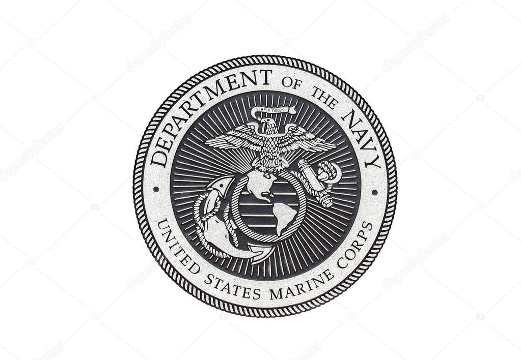 Us Marine Corps Officile Zegel Stockfoto Z4hos 76559499