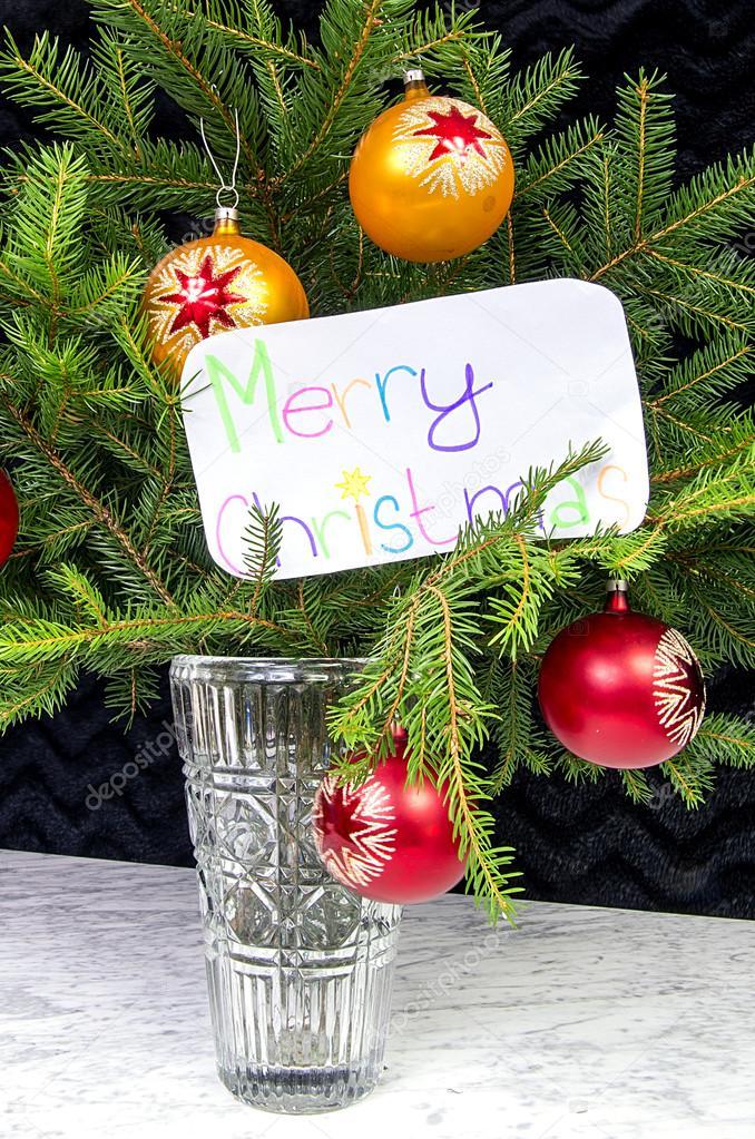 Buon Natale In Inglese.L Augurio Di Buon Natale In Inglese Foto Stock C Jan Herodes 53041207
