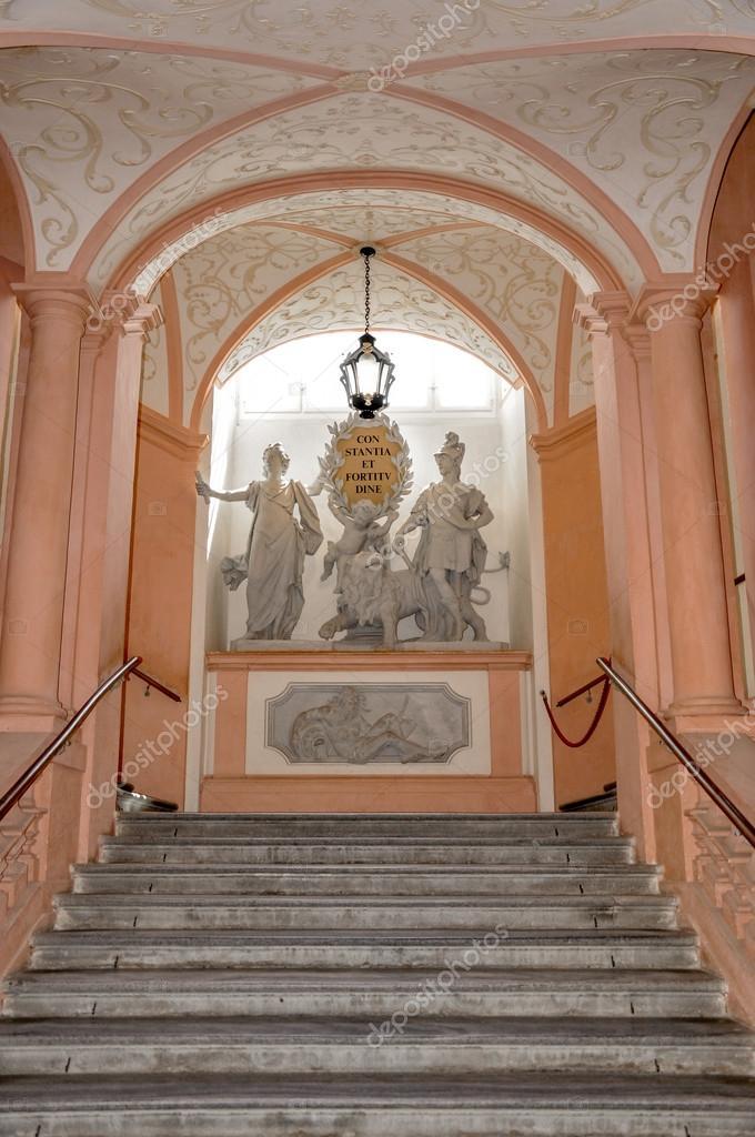 Császár lépcsőn a Melki apátság, Ausztria — Stock Fotó © azoth ...
