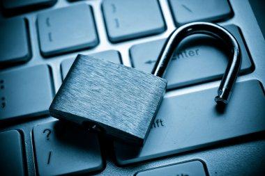 computer security breach concept