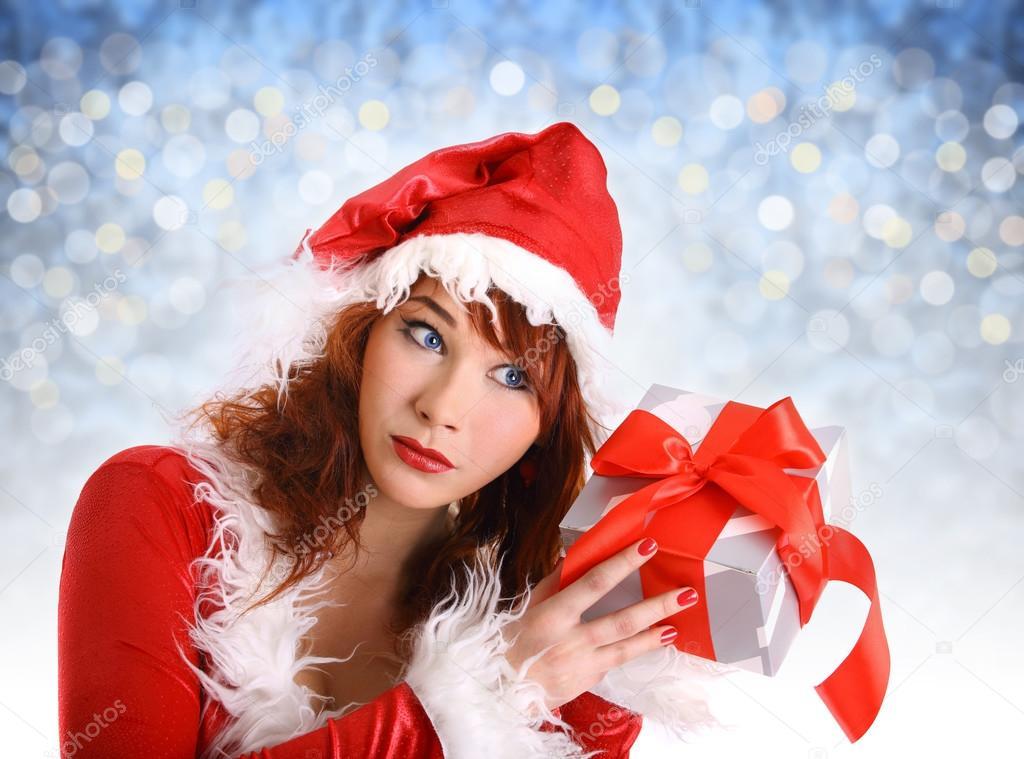 perfect christmas girl