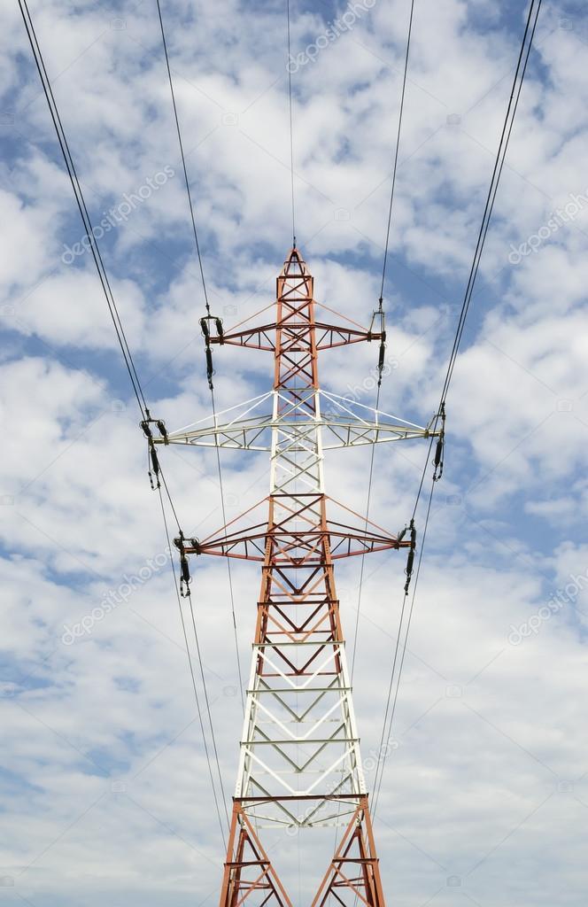 Medium voltage pole