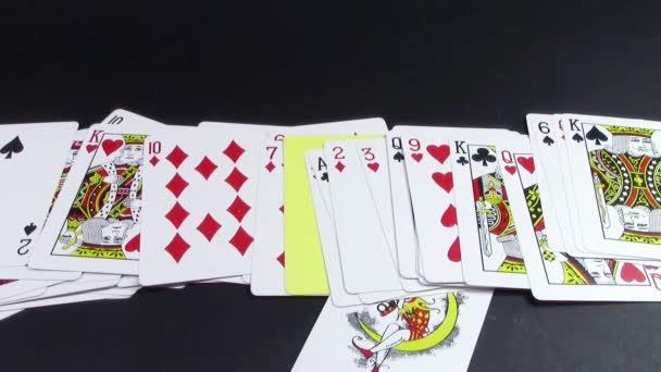 Losování karet štěstí