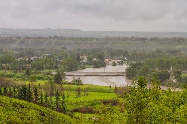 Flooded Community in Calgary