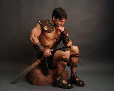 Handsome viking