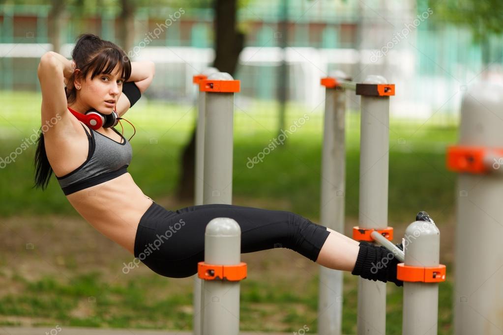 Обои Девушки Спорт
