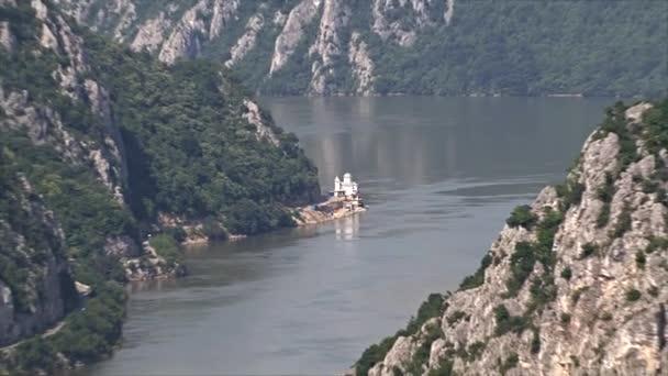Beautiful landscape on the Danube Gorge